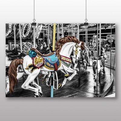 Big Box Art Carousel Horse No.2 Photographic Print