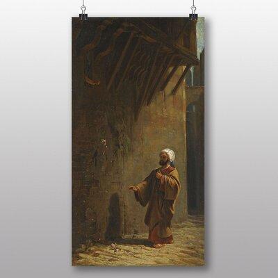 Big Box Art 'Street in Cairo' by Carl Spitzweg Art Print