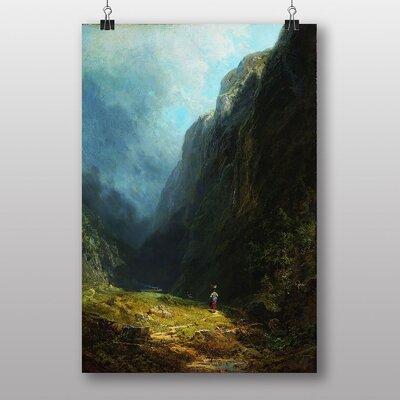 Big Box Art High Valley by Carl Spitzweg Art Print