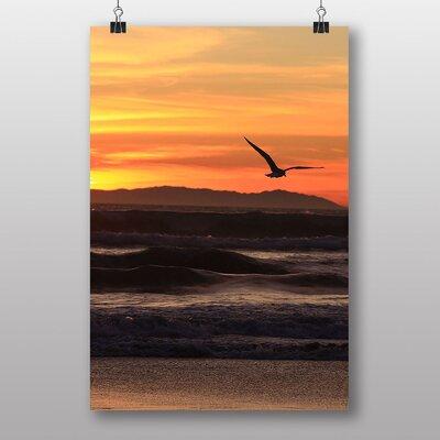 Big Box Art California Sunset Photographic Print Wrapped on Canvas