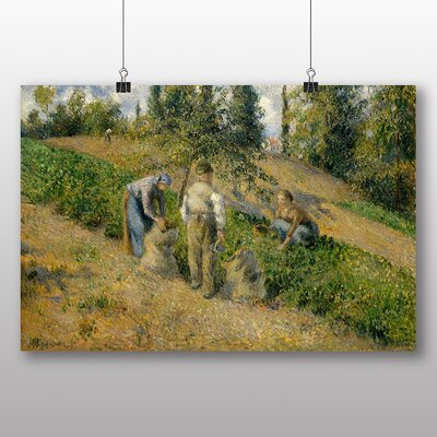 Big Box Art 'The Harvest' by Camille Pissarro Art Print