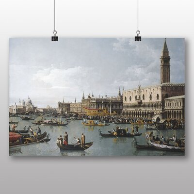 Big Box Art 'San Marco' by Bernado Bellotto Canaletto Art Print