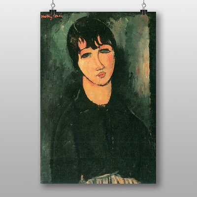 "Big Box Art ""Portrait No.5"" by Amedeo Modigliani Art Print"