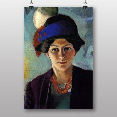 "Big Box Art ""Portrait of a Woman"" by August Macke Art Print"