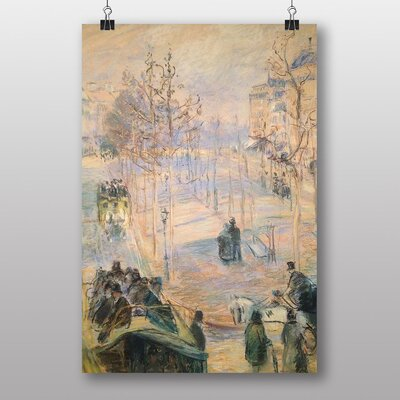 "Big Box Art ""Boulevard Rochechouart"" by Camille Pissarro Art Print"