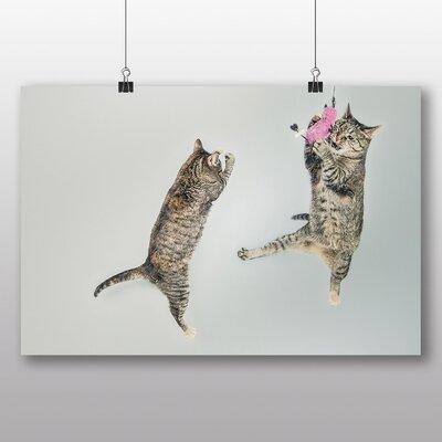 Big Box Art 'Cats Playing' Photographic Print