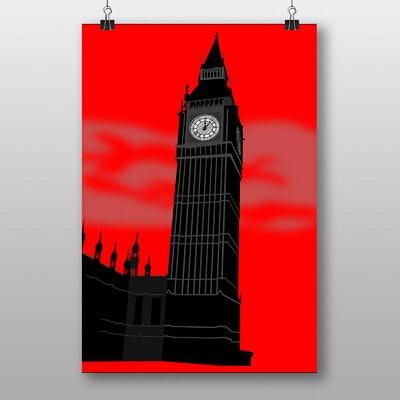 Big Box Art Big Ben Art London No.1 Graphic Art