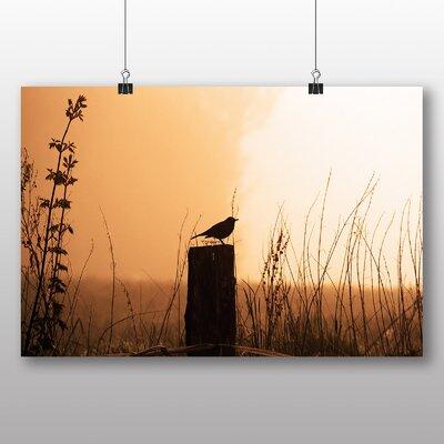 Big Box Art Blackbird No.2 Photographic Print on Canvas