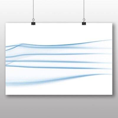 Big Box Art Smoke Abstract Graphic Art on Canvas