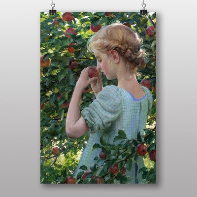 Big Box Art Scent of the Apple by Charles C. Curran Art Print