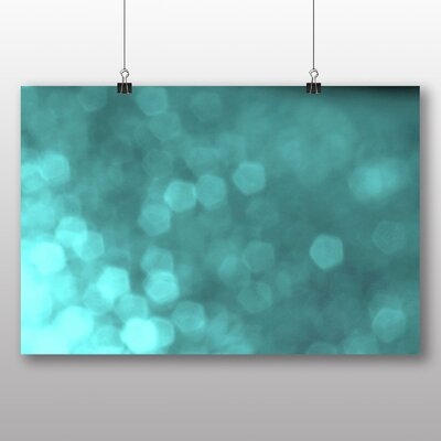 Big Box Art Blurred Fairy Lights Abstract No.6 Graphic Art