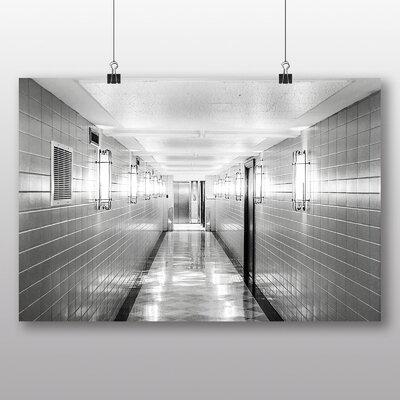 Big Box Art 'Black and White Corridor No.2' Photographic Print