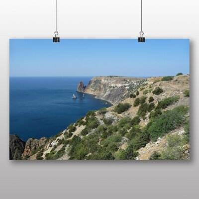 Big Box Art Black Sea Ukraine Photographic Print on Canvas