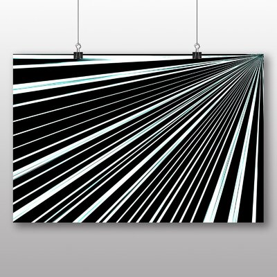 Big Box Art Abstract Stripes Graphic Art