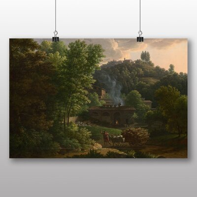 Big Box Art 'Landscape No.8' by Charles Francois Daubigny Art Print