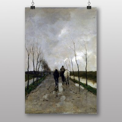 "Big Box Art ""A Dutch Road"" by Anton Mauve Art Print"
