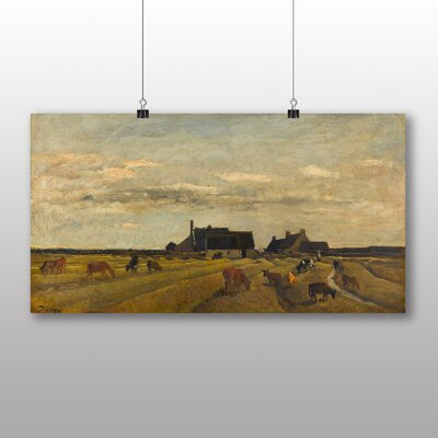 Big Box Art 'Farm at Kerity' by Charles Francois Daubigny Art Print