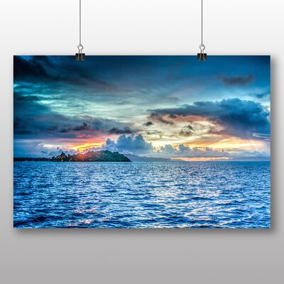 Big Box Art Bora Bora Sea Photographic Print on Canvas