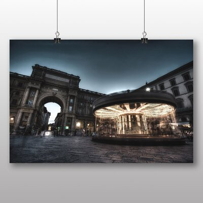 Big Box Art Carousel Horse No.4 Photographic Print Wrapped on Canvas