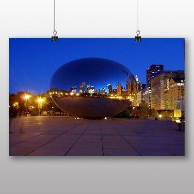 Big Box Art Chicago Bean USA Photographic Print