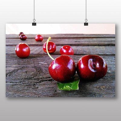 Big Box Art Cherries Photographic Print Wrapped on Canvas