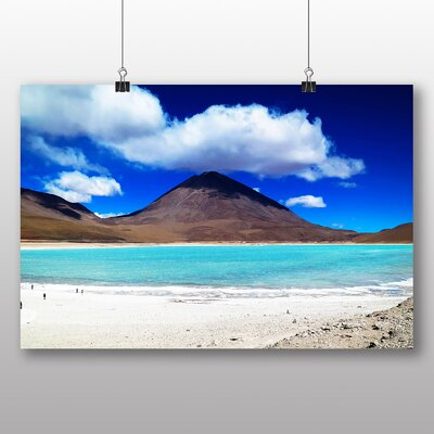 Big Box Art Chile Volcano Photographic Print Wrapped on Canvas
