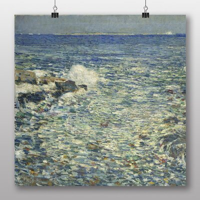 Big Box Art 'Surf, Isles of Shoals' by Childe Hassam Art Print
