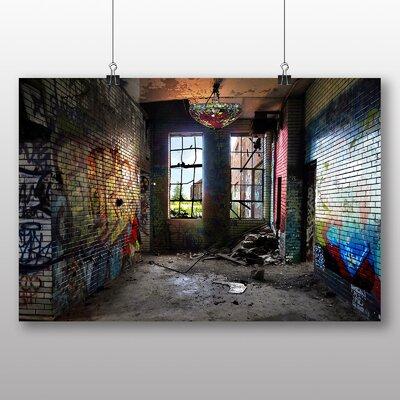 Big Box Art Chicago Graffiti Photographic Print Wrapped on Canvas