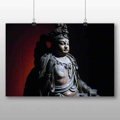 Big Box Art Buddah Photographic Print Wrapped on Canvas