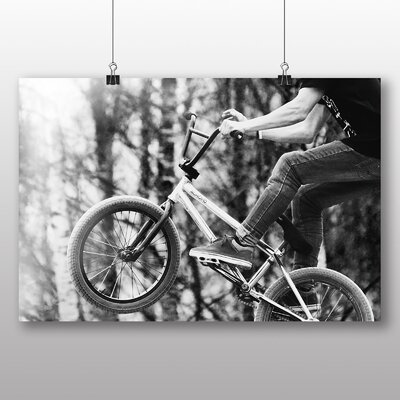 Big Box Art BMX Photographic Print Wrapped on Canvas