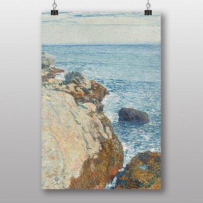 "Big Box Art ""Sea"" by Childe Hassam Cliffs Art Print"