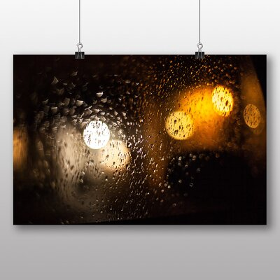 Big Box Art 'Blurred Lights and Rain' Graphic Art