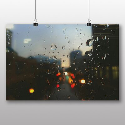 Big Box Art 'Blurred City Lights No.1' Photographic Print