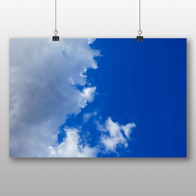 Big Box Art Blue Crisp Sky No.2' Photographic Print
