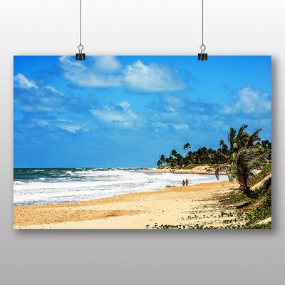 Big Box Art Beach Brazil Photographic Print