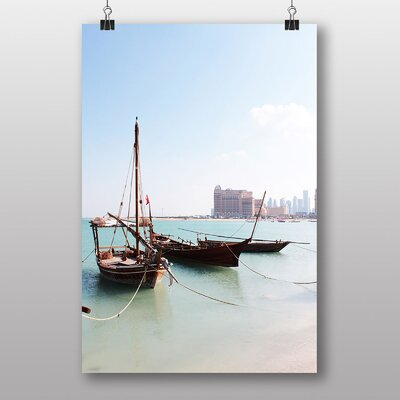 Big Box Art Boats Qatar Photographic Print