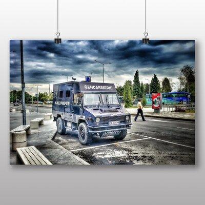 Big Box Art Bulgaria Police Photographic Print on Canvas