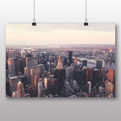 Big Box Art City Skyline No.2 Photographic Print on Canvas