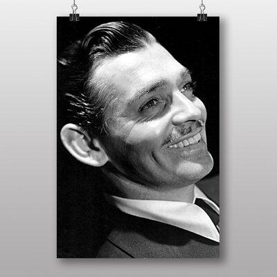 Big Box Art Clark Gable Photographic Print Wrapped on Canvas