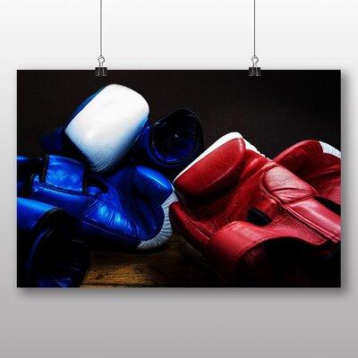 Big Box Art Boxing Gloves No.2 Photographic Print