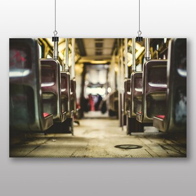 Big Box Art Bus Seats Photographic Print