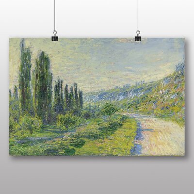 Big Box Art 'Lane in the Country' by Claude Monet Art Print