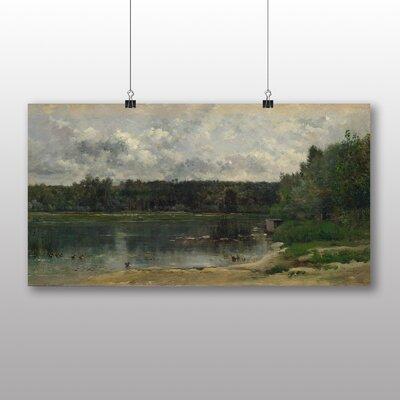 Big Box Art 'Landscape No.10' by Charles Francois Daubigny Art Print