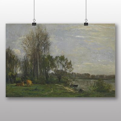 Big Box Art 'Landscape No.2' by Charles Francois Daubigny Art Print