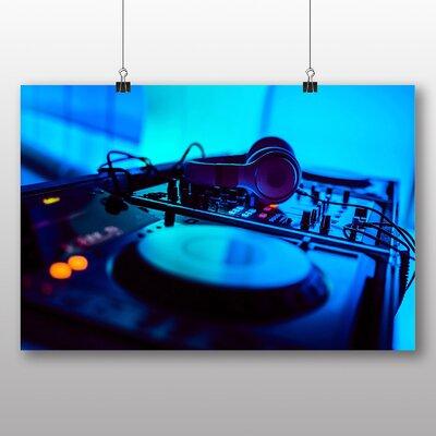 Big Box Art DJ Photographic Print