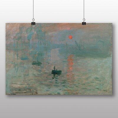 Big Box Art 'Sunrise' by Claude Monet Art Print