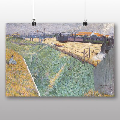 Big Box Art 'The Western Railway' by Charles Angrande Art Print