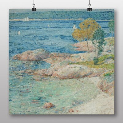 Big Box Art 'The Outer Harbour' by Childe Hassam Art Print
