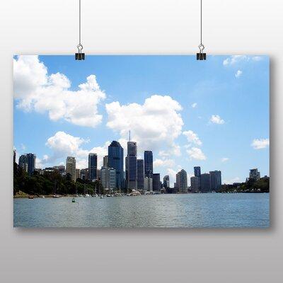 Big Box Art Brisbane Australia No.2 Photographic Print Wrapped on Canvas