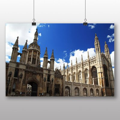 Big Box Art Cambridge College Photographic Print Wrapped on Canvas